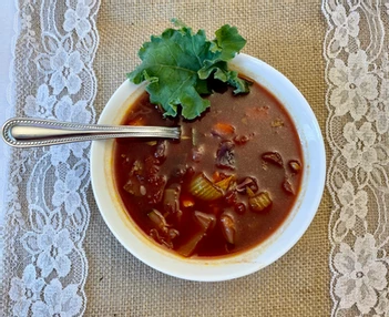 Not your Typical Veggie Soup