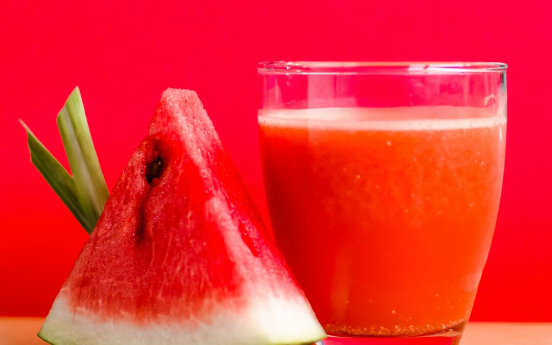 """Watermelon Cucumber Smoothie """"I am refreshed!"""""""